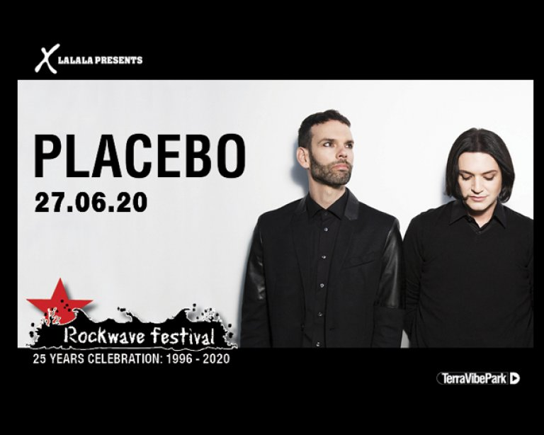 ROCKWAVE FESTIVAL 2020 | 27 ΙΟΥΝΙΟΥ | PLACEBO +MORE ACTS T.B.A.